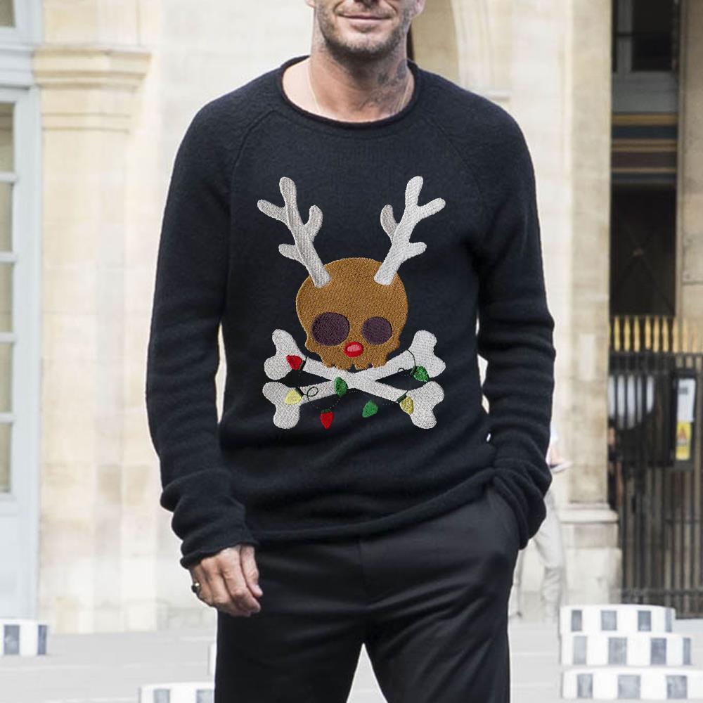 Skull Reindeer Jolly Roger Shirt 2 1.jpg