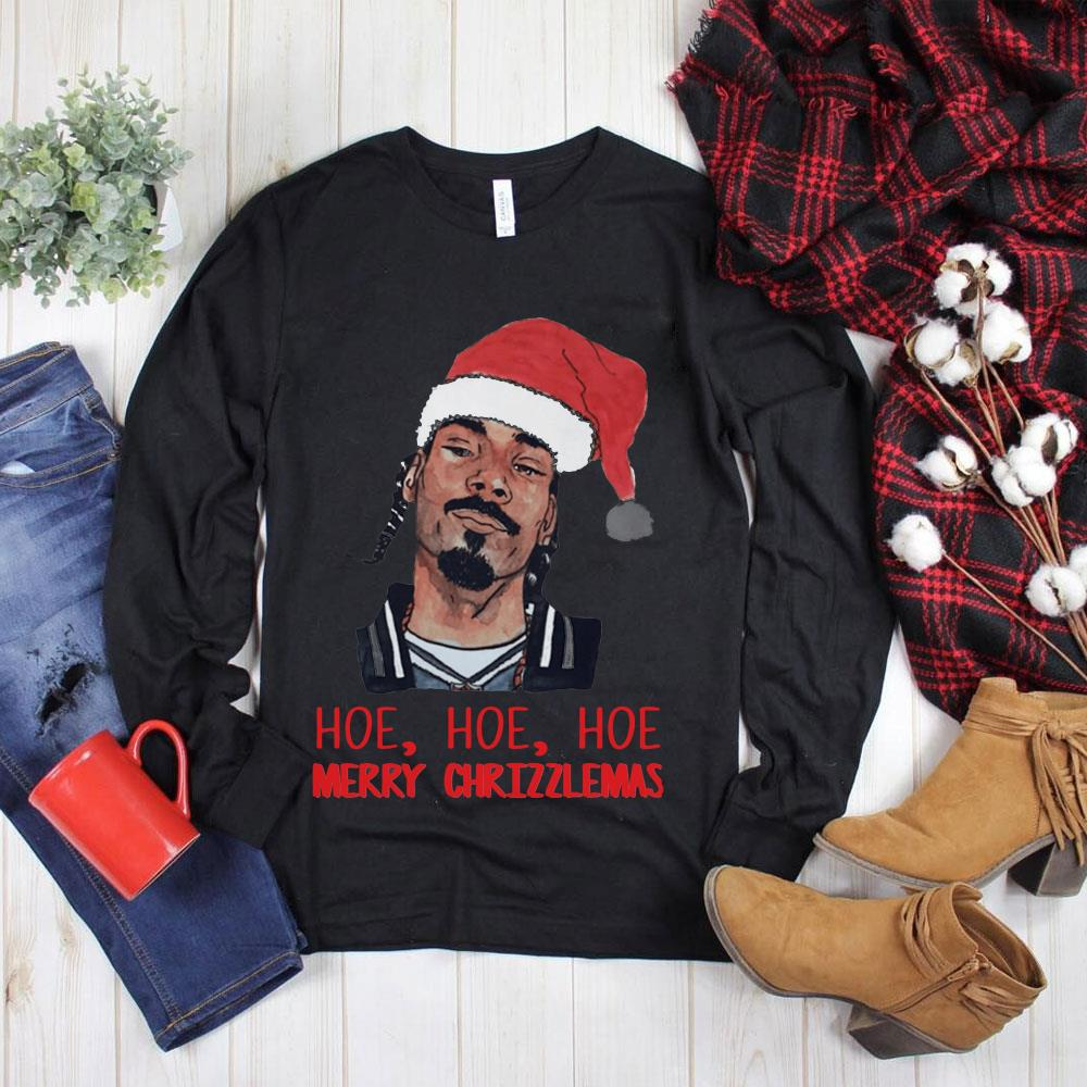 Nice Snoop Dogg hoe hoe hoe merry Chrizzlemas shirt