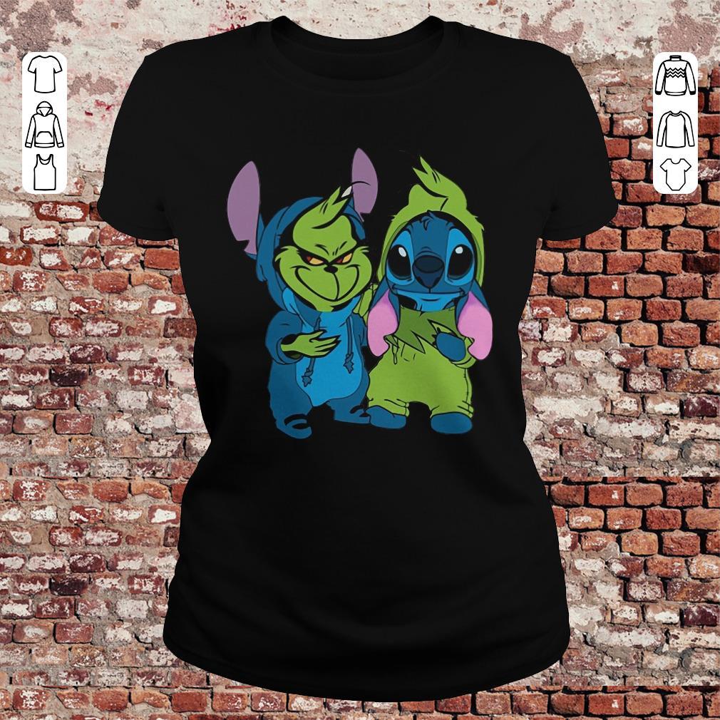Top Grinch And Stitch Shirt Hoodie Classic Ladies Tee.jpg