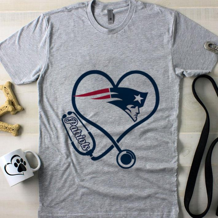 119e86cd528 Heart stethoscope Nurse New England Patriots shirt, hoodie, sweater ...