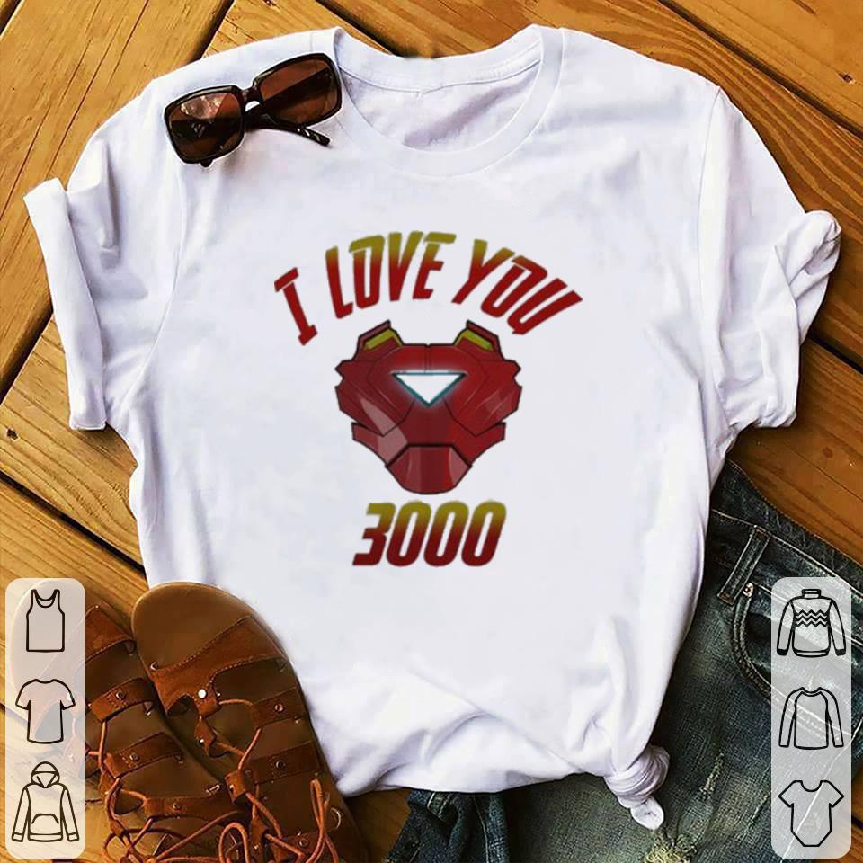 Funny I Love You 3000 Iron Man Avengers Endgame Tony Stark shirt