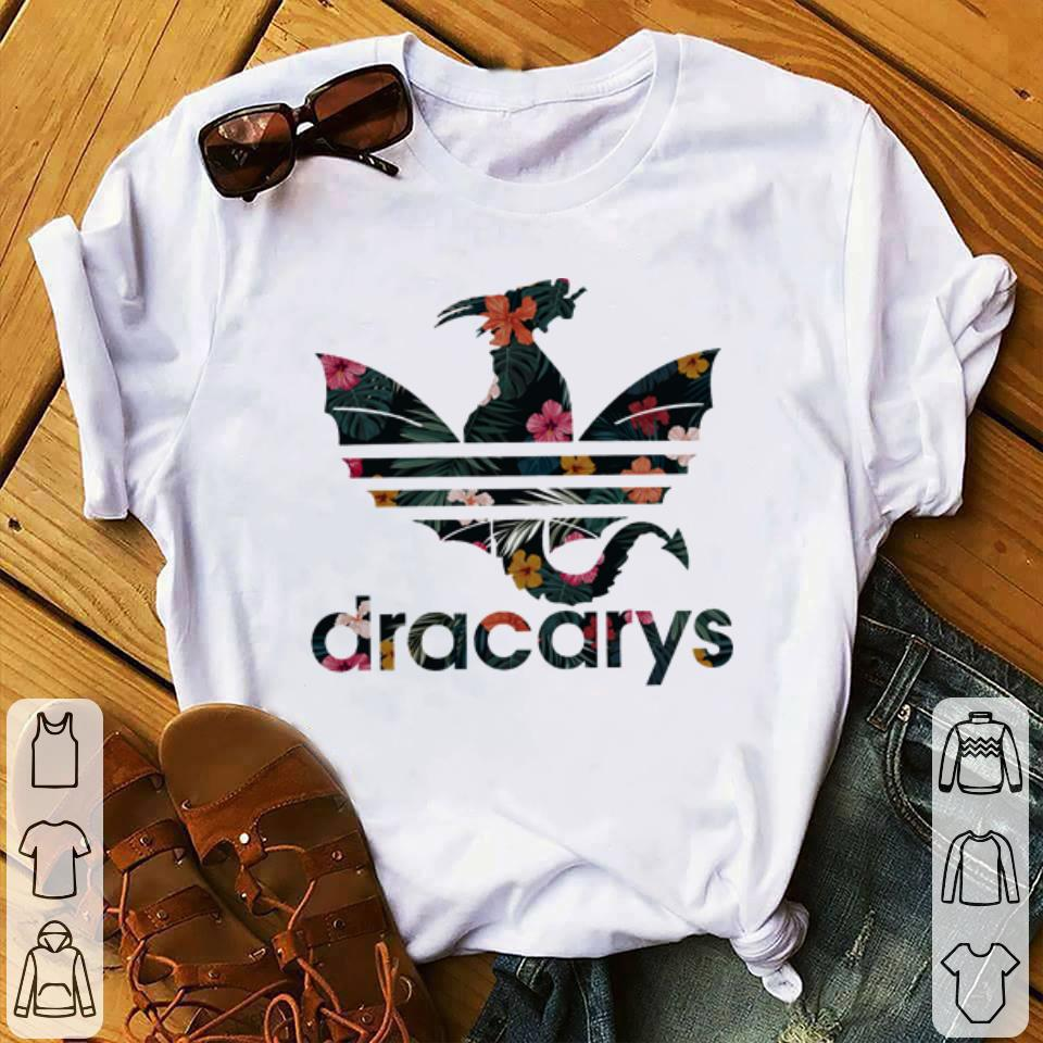 2b492929 Official Dracarys Adidas Game Of Thrones floral shirt, hoodie ...