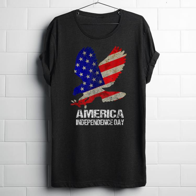 America Independence Day Bald Eagle 4th Of July American Flag shirt