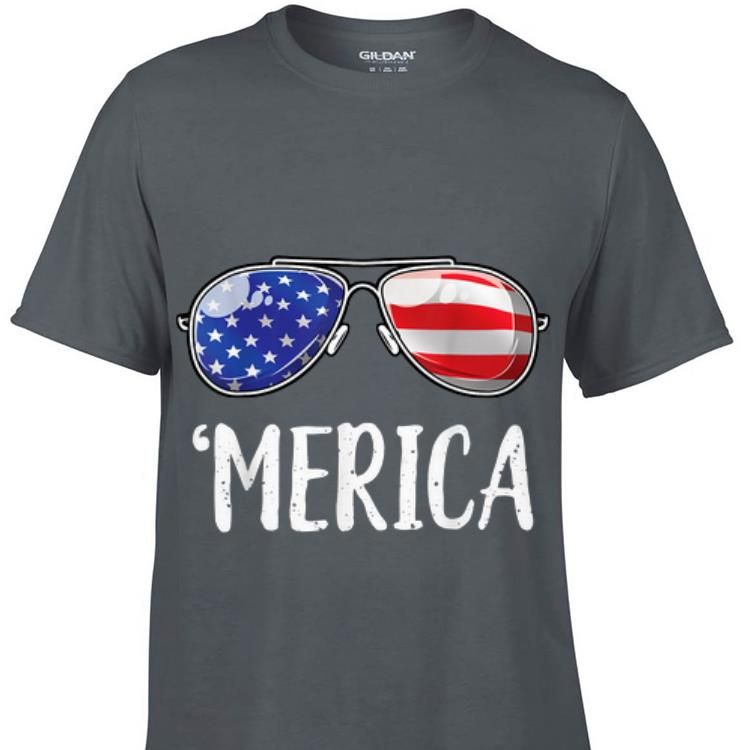 Awesome Merica Sunglasses 4th of July shirt shirt