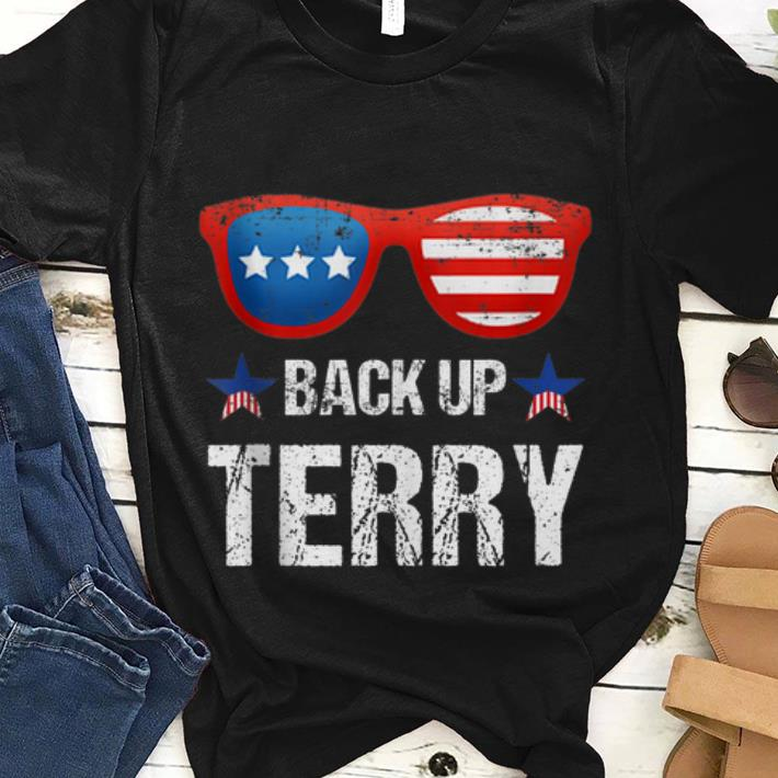 Best price Back Up Terry American Flag 4th Of July Sunglasses shirt