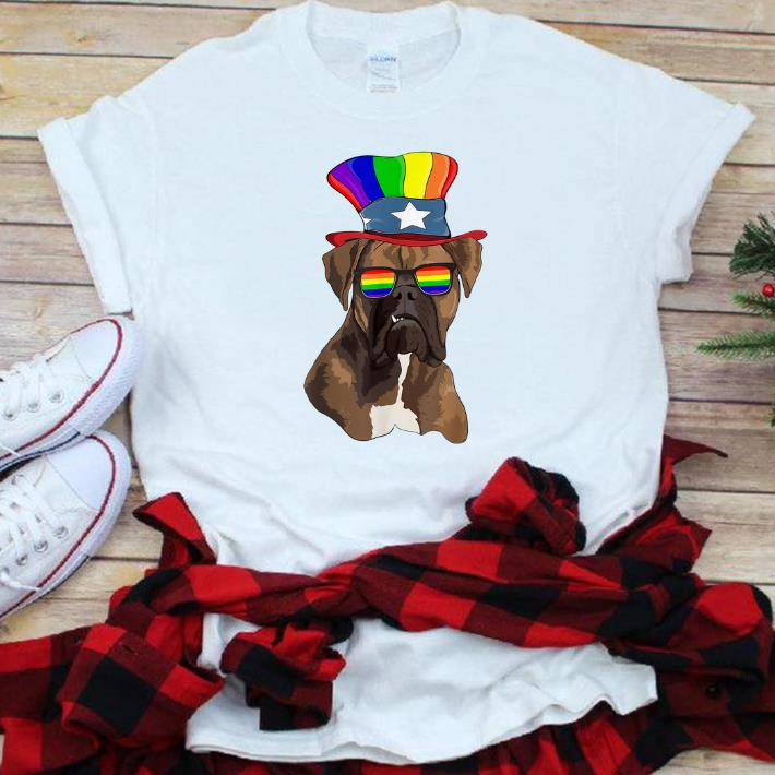 Nice Boxers Gay Pride Lgbt Rainbow Flag Lgbt Gifts Shirt