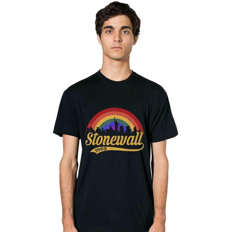 Official 90's Style Vintage Stonewall Gay Pride LGBTQ Rights shirt