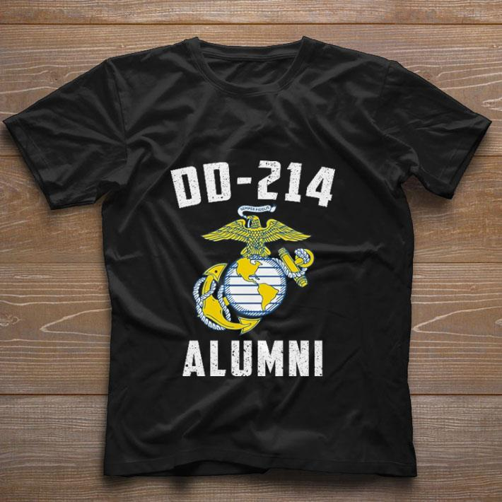 Official United States Marine Corps DD-214 Alumni shirt