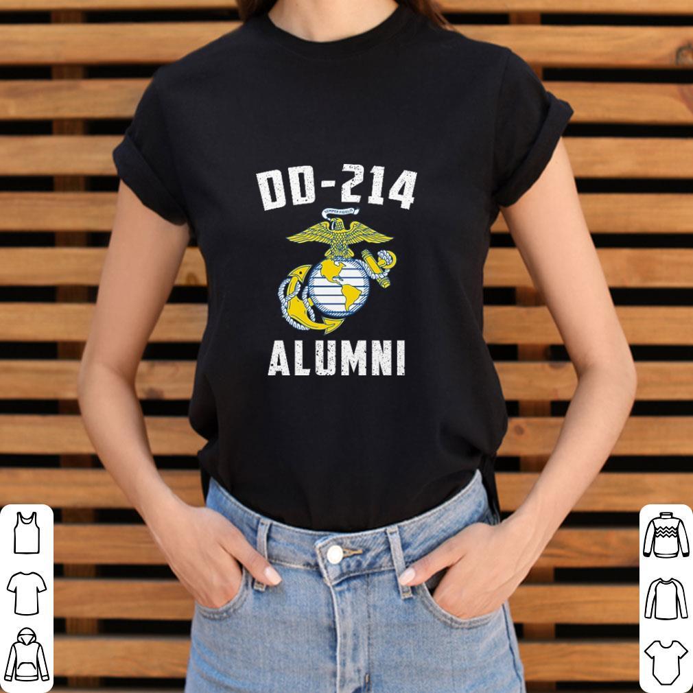 Official United States Marine Corps DD-214 Alumni shirt