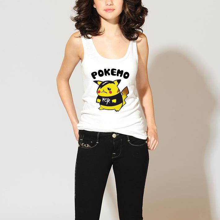 Top Pikachu Pokemo MCR My Chemical Romance shirt