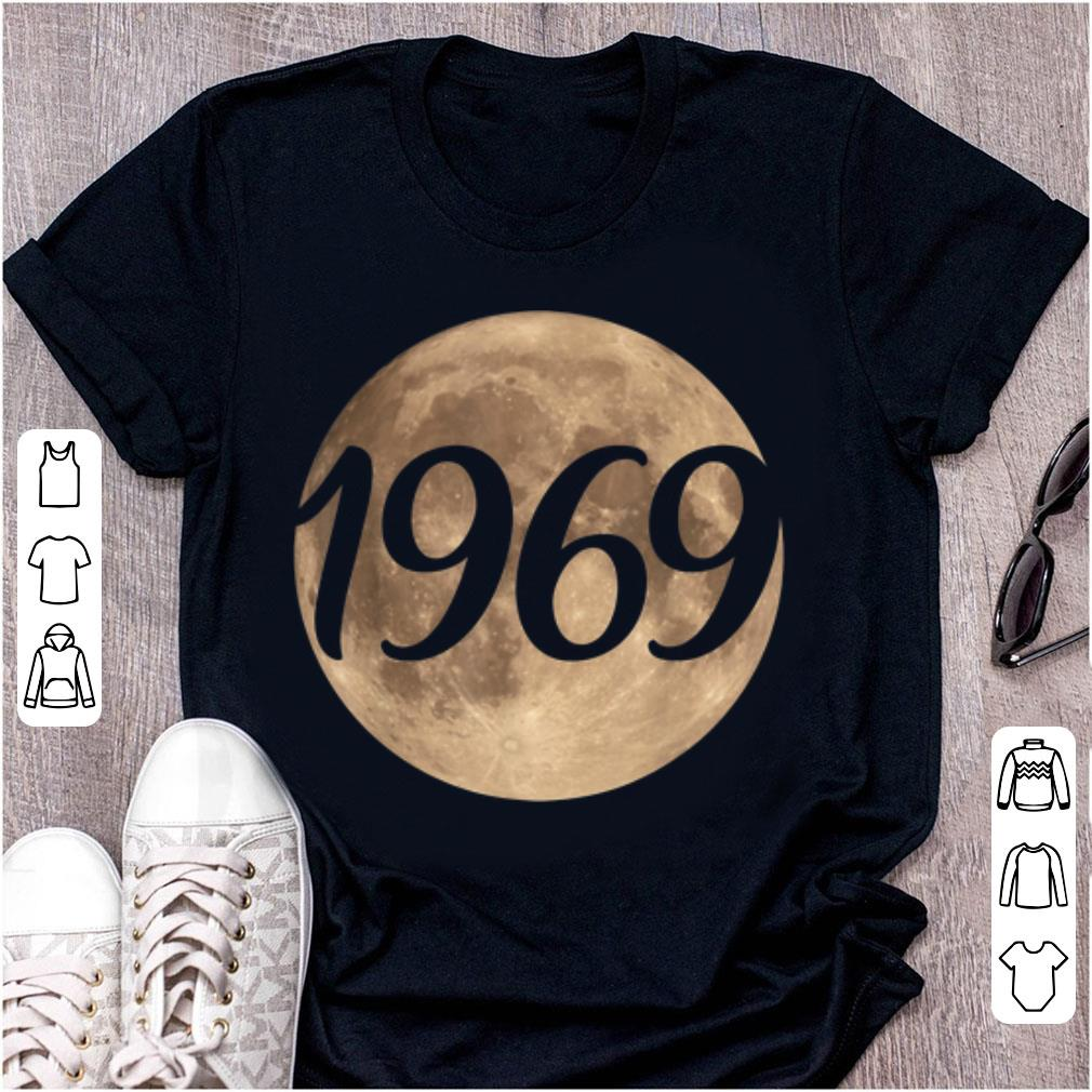 Awesome 50th Anniversary Of The First Moon Landing 1969 2019 shirt