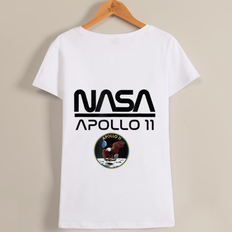 Awesome Apollo 11 NASA Space Moon Landing Astronaut Logo shirt