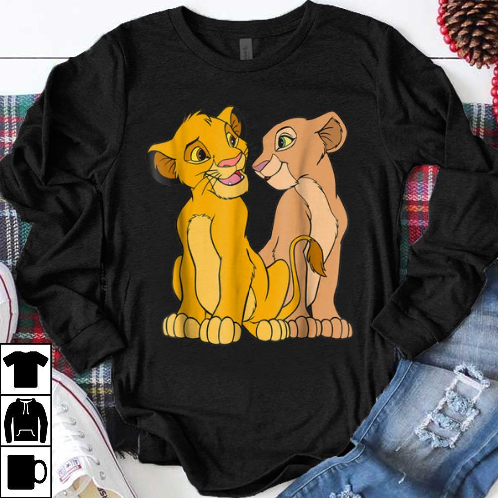 Greatest Disney The Lion King Young Simba and Nala Together shirt