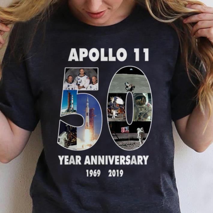 Hot Apollo 11 50th Anniversary Moon Landing in Pictures Space shirt