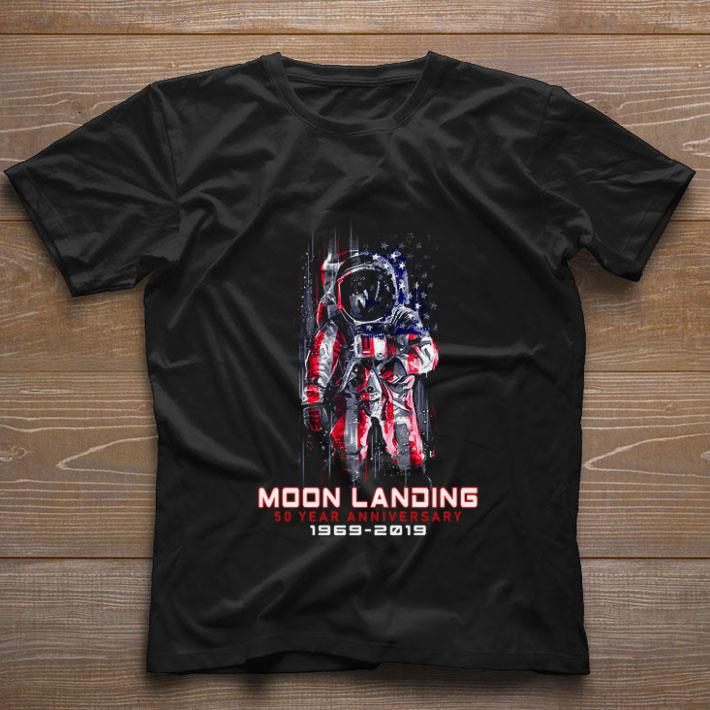 Hot Apollo 11 Moon Landing 50 Year anniversary 1969-2019 4th of july shirt