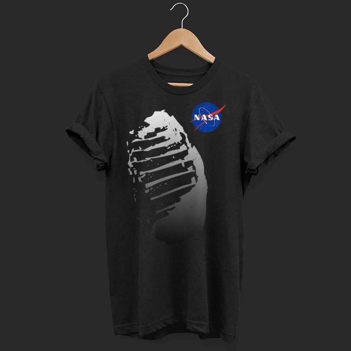 Official Moon Boot Print Vintage NASA Approved Apollo 11 50th shirt