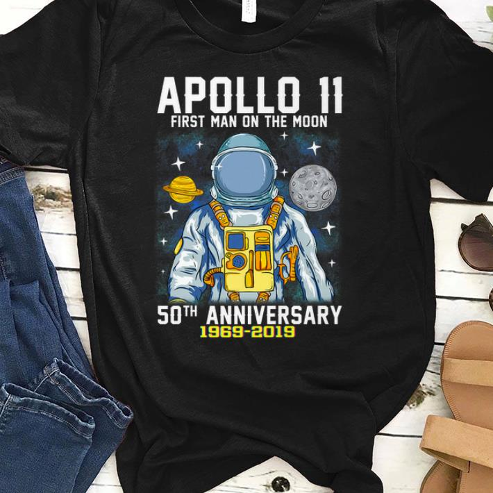 Original 50th Anniversary Apollo 11 First Man on the Moon shirt