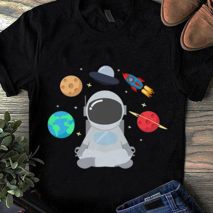 Premium Astronaut Mediate Aliens Moon Mars Planet shirt