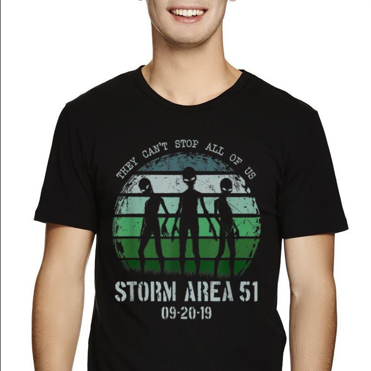Pretty Storm Area 51 Alien Trio UFO Truth Movement shirt