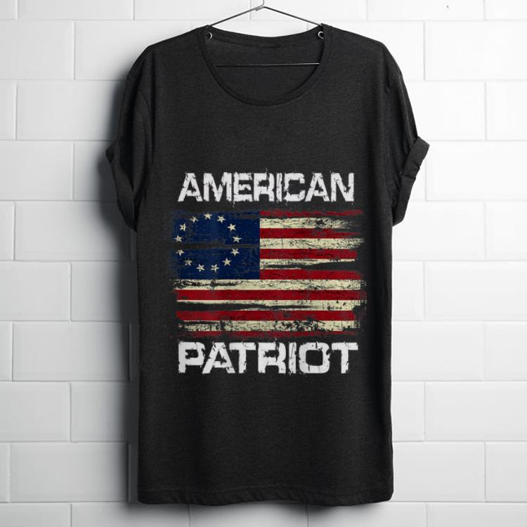 Top American Patriot Betsy Ross Flag shirt