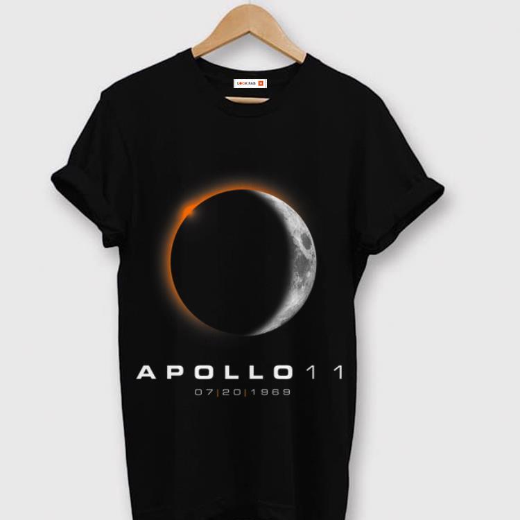 Top American Solar Eclipse 50th Anniversary Apollo 11 Moon Landing shirt