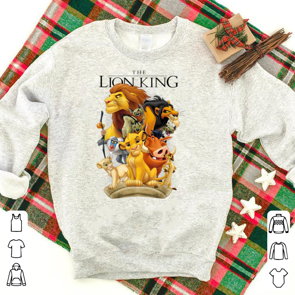 Top Disney Lion King Pride Land Characters Graphic shirt