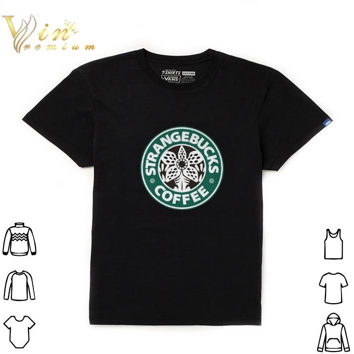 Awesome Demogorgon Strangebucks coffee Stranger Things shirt