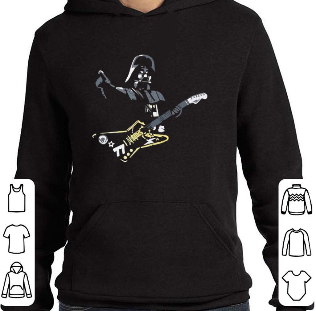 Funny Star wars Darth Vader Rockstar Guitar shirt