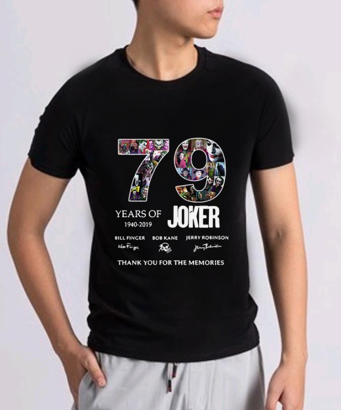 Hot 79 Years Of Joker Thank You For The Memories Signature Shirt 2 1.jpg