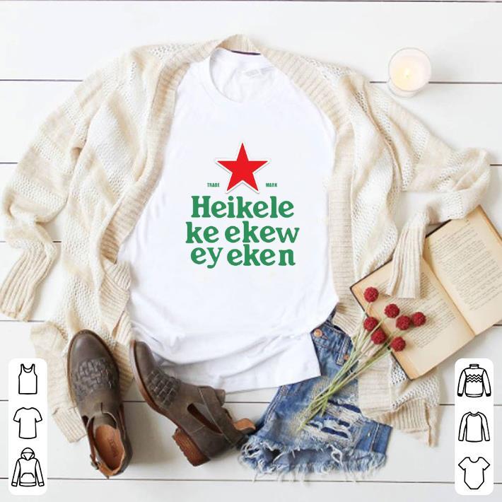 Official Trade Mark Heikelekeekeweyeken Sublimation Dryfit shirt