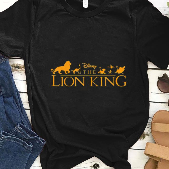 Premium Disney The Lion King Official Movie Logo shirt