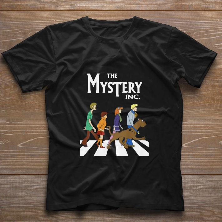 Pretty Scooby Doo The Mysterry Inc Abbey Road shirt