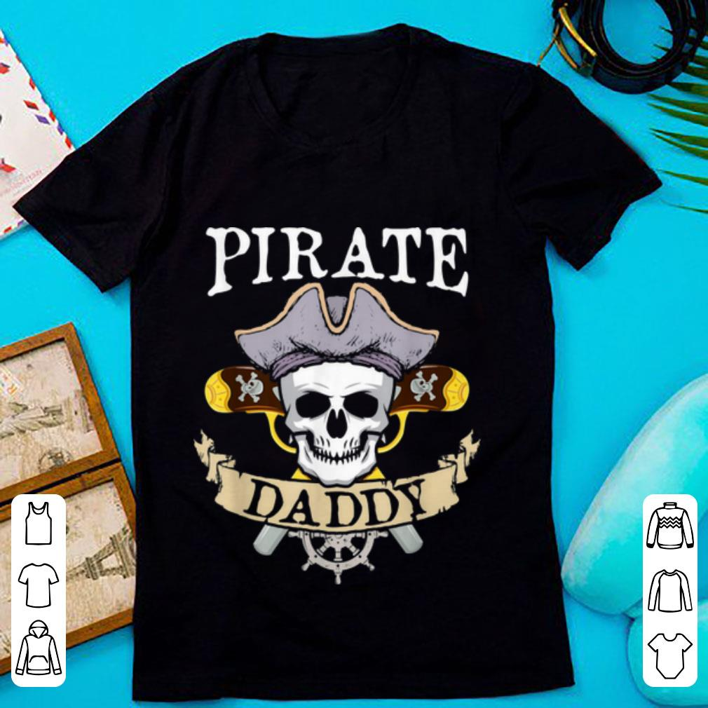 Funny Pirate Daddy Halloween Matching Family Costume Gift shirt