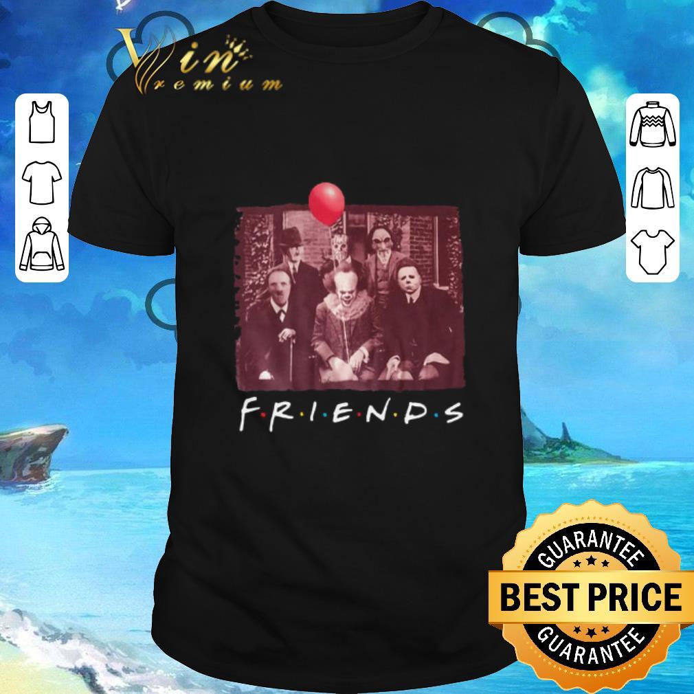 Hot Friends Horror film characters shirt
