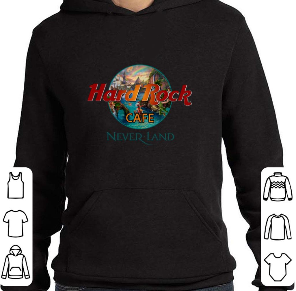 Pretty Hard Rock Cafe Neverland shirt