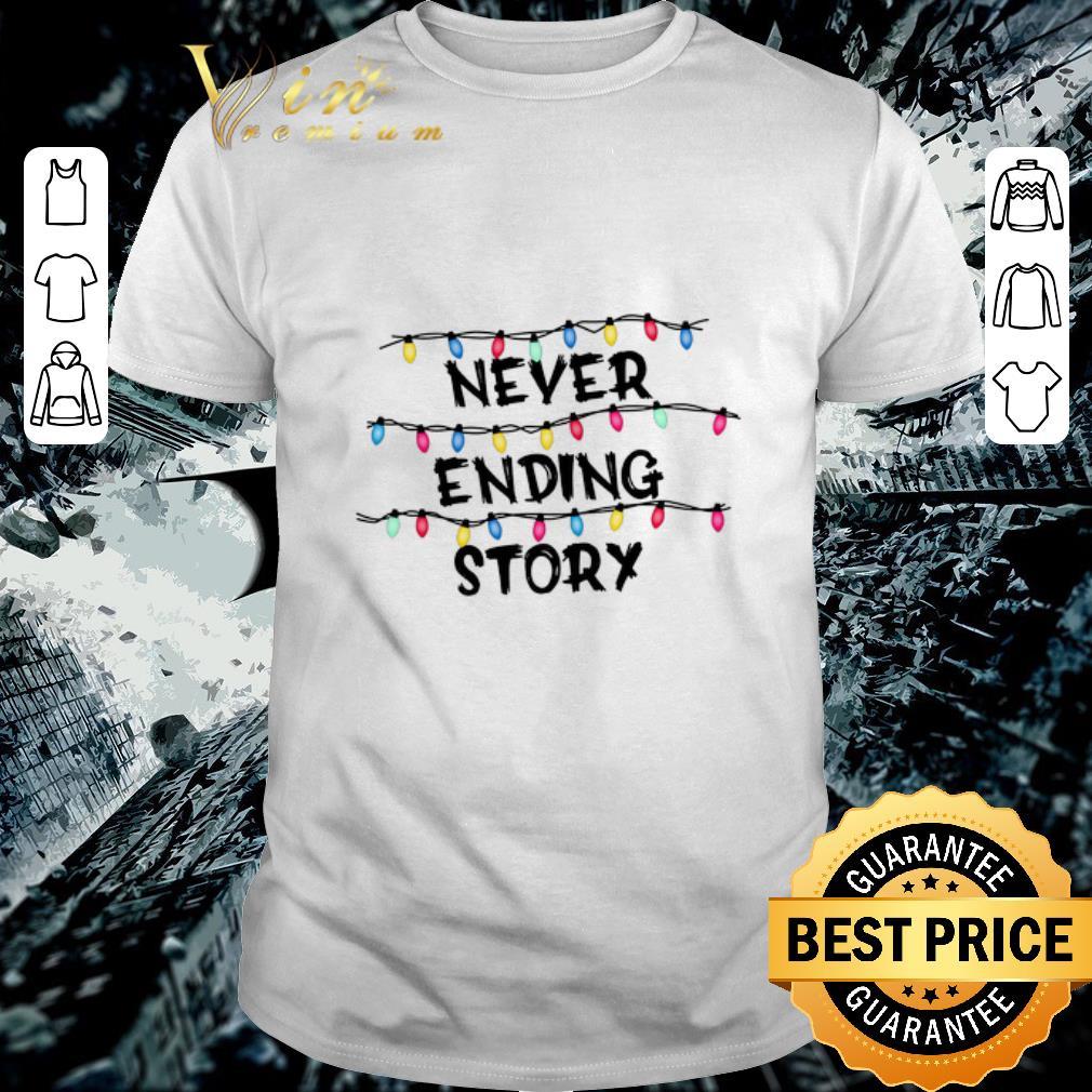 Pretty Never Ending Story Stranger Things shirt