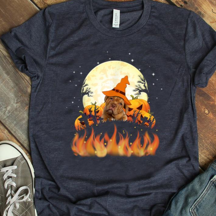Top Dogue de Bordeaux Dog Lovers Halloween Gift shirt