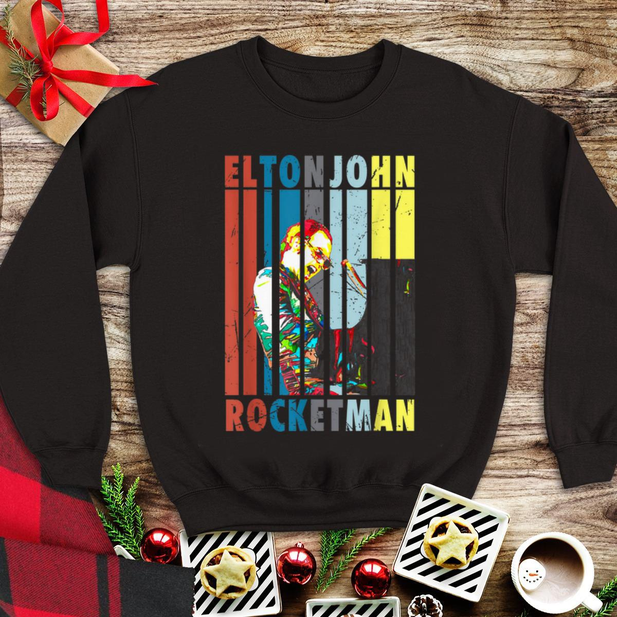 Vintage Elton John Rocketman Play Piano shirt