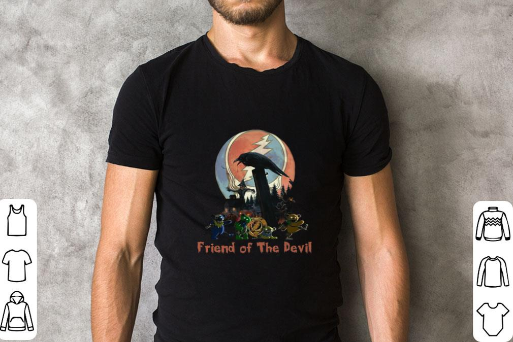 Funny Grateful Dead Friends of The Devil shirt