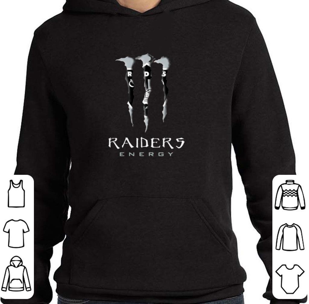 Official Oakland Raiders Monster Energy shirt