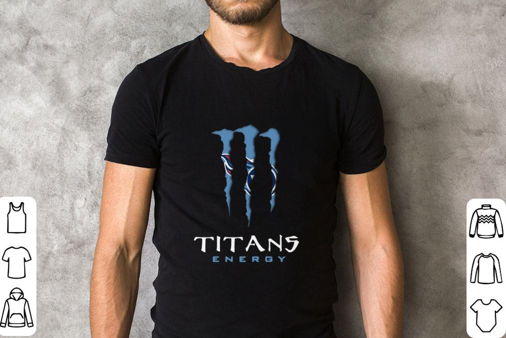 Official Tennessee Titans Monster Energy shirt