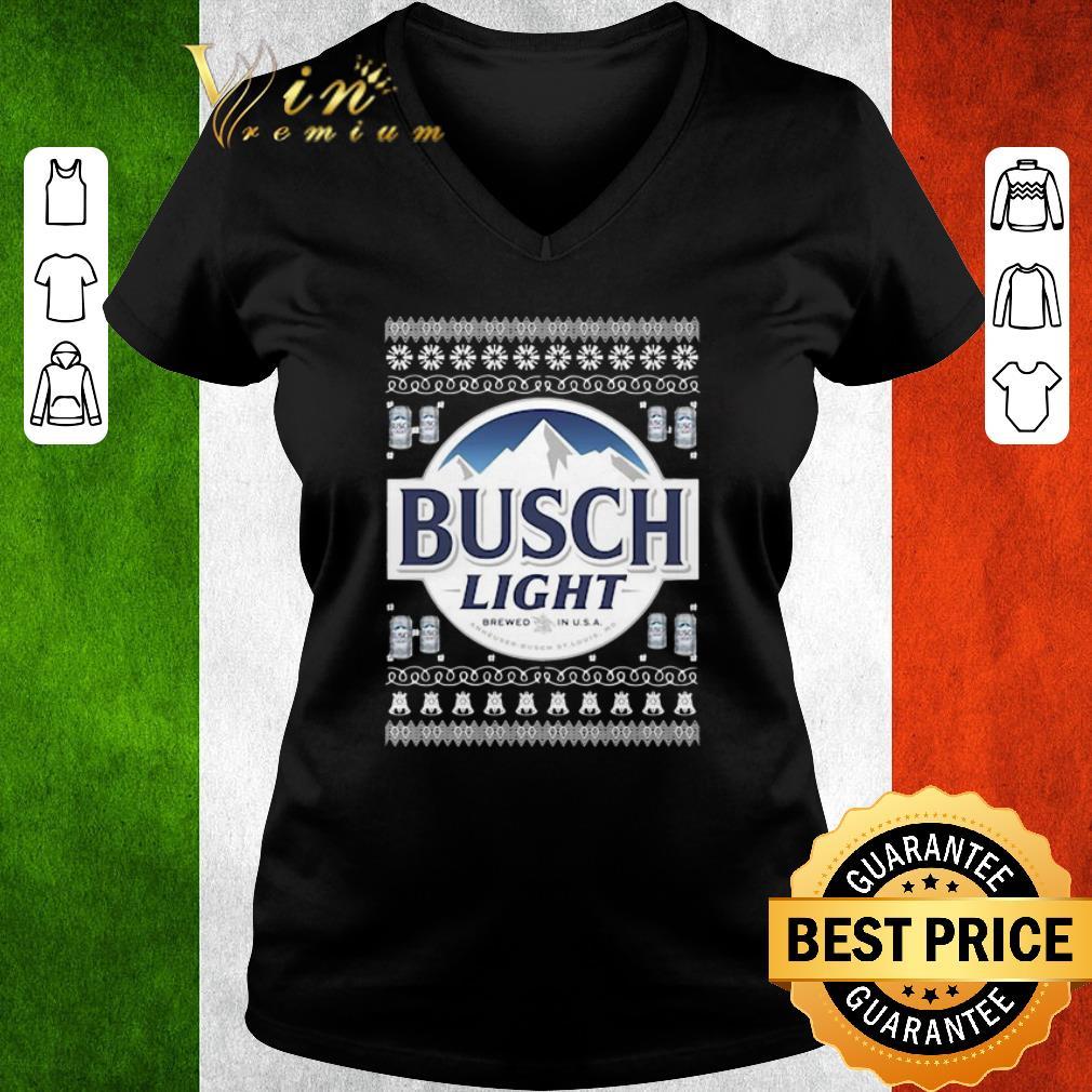 Pretty Busch Light Beer Ugly Christmas Shirt, Hoodie
