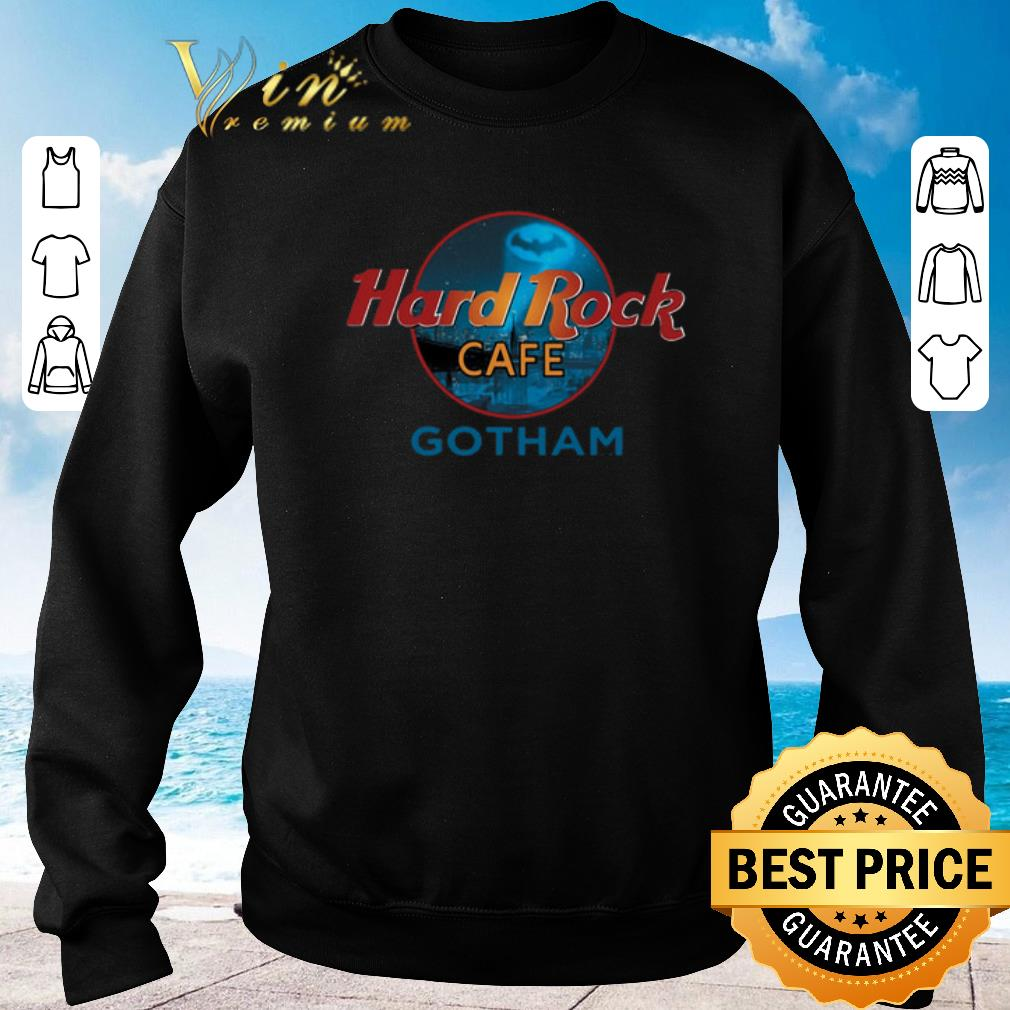 Pretty Gotham Hard Rock Cafe shirt 2019