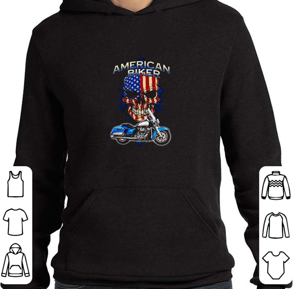 Funny 4th of July independence day American Biker shirt