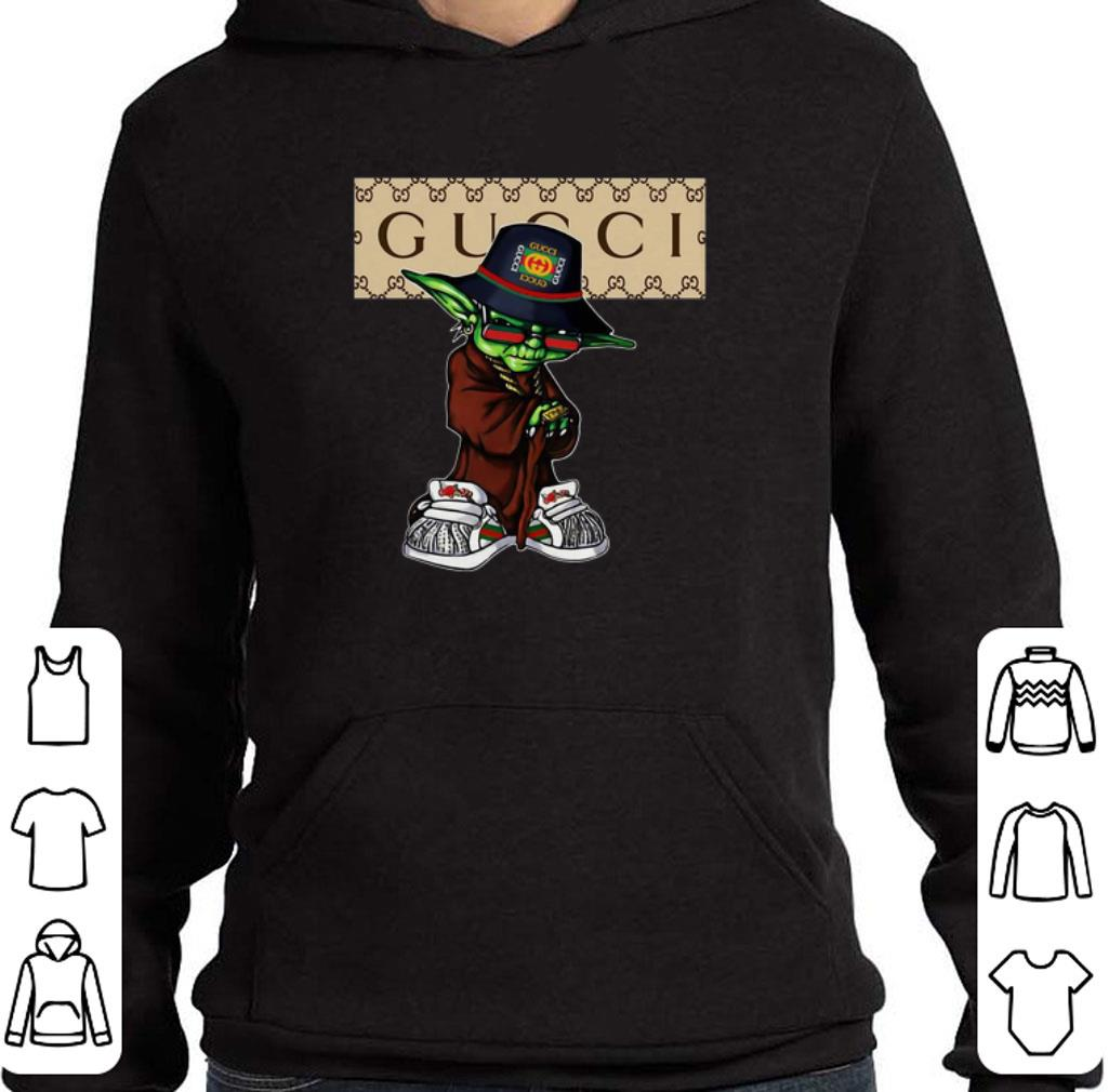Premium Master Yoda mashup Gucci shirt