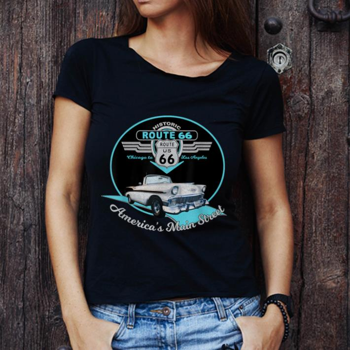 Awesome Route 66 Mother Road Chicago To Los Angeles Souvenir Shirt 3 1.jpg