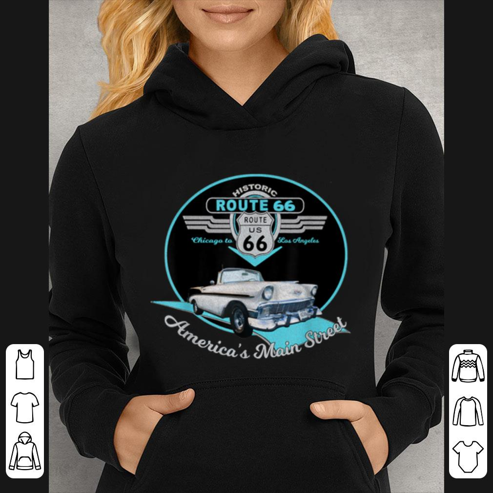 Awesome Route 66 Mother Road Chicago To Los Angeles Souvenir shirt