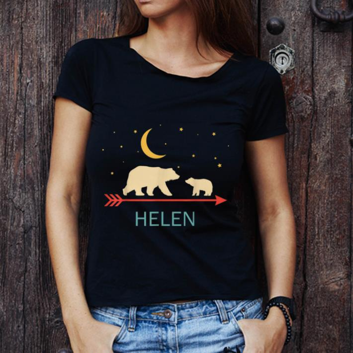 Hot Helen Name Gift Personalized Mama Bear With 1 Cub Shirt 3 1.jpg
