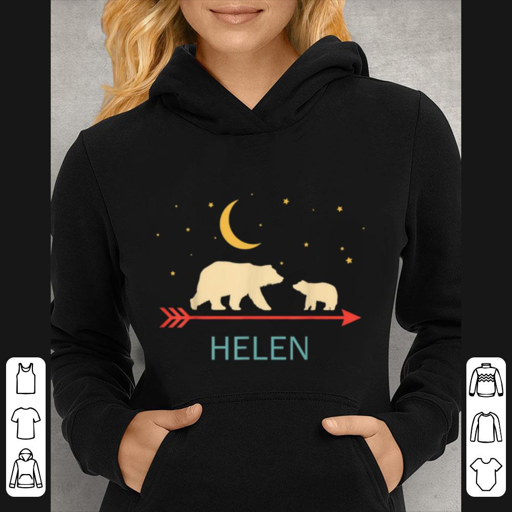 Hot Helen Name Gift Personalized Mama Bear With 1 Cub shirt