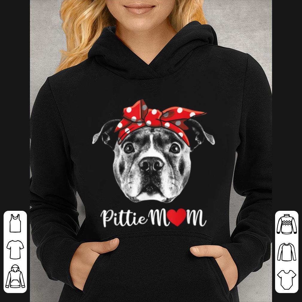 Premium Pittie Mom Pitbull Dog Lovers For Mom Mothers Day Gift shirt